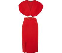 Kerr Verziertes Kleid aus einer Seidenmischung