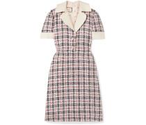Verziertes Kleid aus -tweed