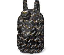 Bedruckter Taschenanhänger aus Strukturiertem Leder