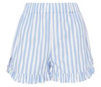 Swimton Shorts aus Gestreifter Baumwolle