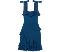 Aegean Minikleid aus Stretch-crêpe