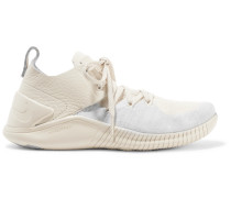 Free Tr 3 Champagne Flyknit Sneakers