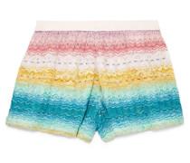 Mare Shorts aus Strick in Häkeloptik