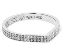 Antifer Ring aus 18 Karat  mit Diamanten