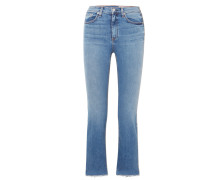Hana Verkürzte, Hoch Sitzende Bootcut-jeans