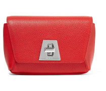 Anouk Little Day Clutch aus Strukturiertem Leder