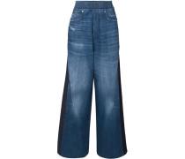 Sophie Hoch Sitzende Jeans mit Weitem Bein