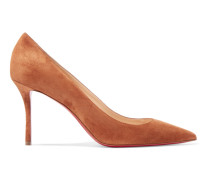 Decoltish 85 Pumps aus Veloursleder