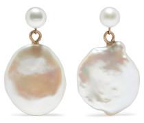 Keshi Ohrringe aus  mit Perlen