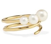Nova Ring aus 18 Karat  mit Perlen