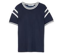 T-shirt aus Stretch-jersey mit Streifen