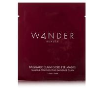 Baggage Claim Gold Eye Masks X 6 – Augenmasken