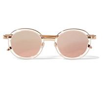 Probably Goldfarbene Sonnenbrille