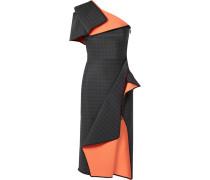 Aquatic Drapiertes Kleid aus Ponte