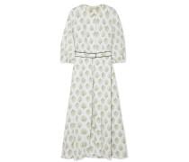 Hilary Bedrucktes Kleid aus Baumwollpopeline