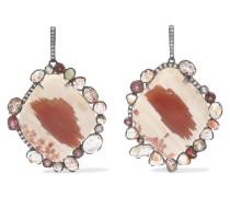 Ohrringe aus 18 Karat  mit Mehreren Steinen