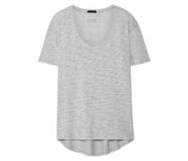 Boyfriend T-shirt aus Flammgarn-jersey aus einer Supima®-baumwollmischung