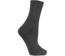 Joan Socken aus Metallic-strick