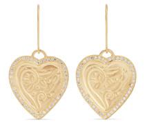 Heart Beat Ohrringe aus 18 und 22 Karat