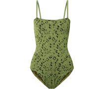 Maria Badeanzug aus Seersucker