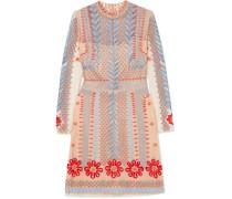 Teahouse Minikleid aus Besticktem Tüll
