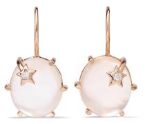 Mini Galaxy Ohrringe aus 18 Karat