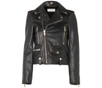 Perfecto Bikerjacke aus Leder in Distressed-optik