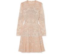 Aurora Paillettenverziertes Minikleid aus Tüll
