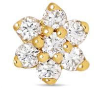 4,5 Mm Ohrring aus 18 karat  mit Diamanten