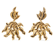 Willow farbene Oversized-ohrclips