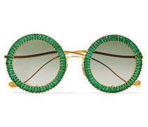 Magic You Vergoldete Sonnenbrille