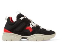 Kindsay Sneakers aus Veloursleder, Leder und Mesh
