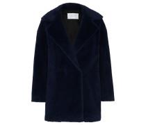 Doppelreihiger Mantel aus einer Alpakawollmischung