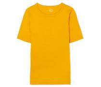 Perfect Fit T-shirt aus Baumwoll-jersey