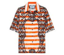 Bedrucktes Hemd aus Baumwollpopeline