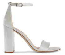 Sandalen aus Vinyl mit Glitter-finish