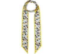 Schal aus Seiden-twill mit Floralem Print