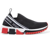 Sorrento Sneakers aus Mesh mit Logoprint