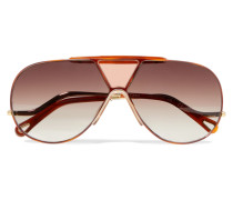 Willis farbene Pilotensonnenbrille