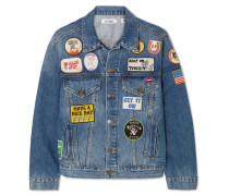 + Re/done The Patch Jeansjacke