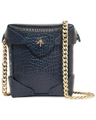 Ausverkauf Manu Atelier Damen Pristine Micro Schultertasche aus Leder Kaufladen kDEhP