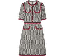 Minikleid aus Tweed aus einer Baumwollmischung
