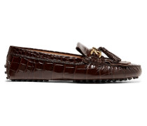 Gommino Loafers aus Lackleder