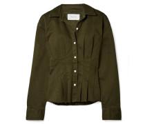 The Tella Jacke aus Twill aus einer Baumwollmischung
