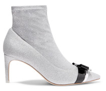 Andie Bow Ankle Boots aus Stretch-strick