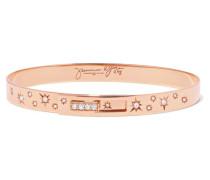Armreif aus 18 Karat Rosé mit Diamanten