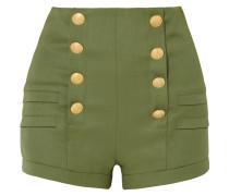 Shorts aus Grain De Poudre aus Wolle
