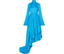 Marlee Asymmetrisches Kleid aus Crêpe De Chine