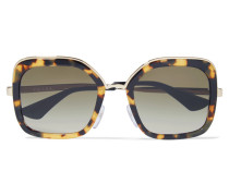 Goldfarbene Sonnenbrille