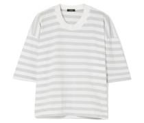 Gestreiftes T-shirt aus Biobaumwoll-jersey